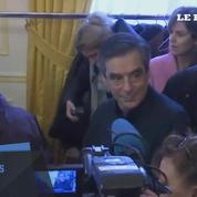 François Fillon vote à Paris