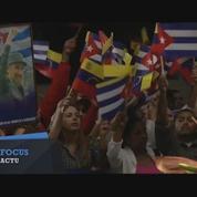 Les hommages de l'Amérique Latine à Fidel Castro