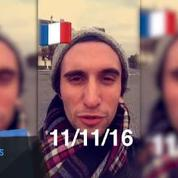 Le 11 novembre vu par le Snapchat du Figaro