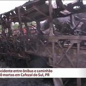 Le Brésil sous le choc après un accident causant 19 morts