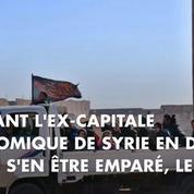 La chute des quartiers rebelles s'enchaîne à Alep, des milliers d'habitants fuient