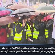 Les professeurs polonais défendent le collège