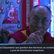 Le dalaï-lama impatient de rencontrer Donald Trump