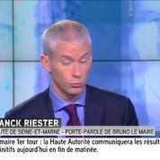 Le porte-parole de Bruno Le Maire soutient Juppé