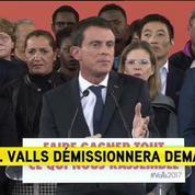 Manuel Valls : Oui, je suis candidat à la présidence de la République