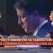 «Si Hollande n'est pas capable de rassembler la gauche, Valls l'est encore moins», assure Lienemann