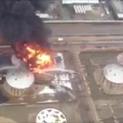 Incendie en cours dans la plus grande raffinerie d'Israël