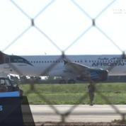 L'avion libyen détourné a atterri à Malte