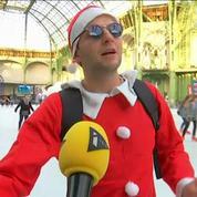 Le Grand Palais transformé en patinoire