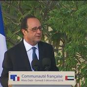 François Hollande à Abu Dhabi : un voyage et des petites phrases