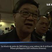 Philippines : saisie record de 900 kilos de méthamphétamines