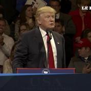 Donald Trump entame sa campagne de remerciement