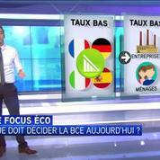 Le focus éco : la BCE va décider de sa nouvelle stratégie