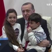 La petite Bana, qui twittait depuis Alep, a été reçue par Erdogan