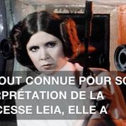 Décès de l'actrice Carrie Fisher à l'âge de 60 ans