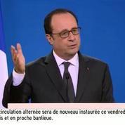 Alep : François Hollande