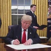 Donald Trump : une première semaine à une cadence effrénée