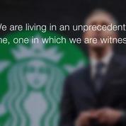 Starbucks will hire 10,000 refugees, starting in U.S.