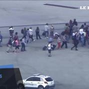 Fusillade dans l'aéroport de Fort Lauderdale: la foule se rassemble sur le tarmac