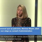 Marissa Mayer démissionne de la direction de Yahoo