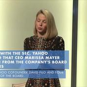 CEO Marissa Mayer is resigning from Yahoo's board
