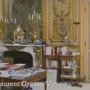 Un tour en vidéo du bureau du président de la République