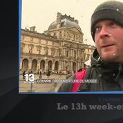 Au Louvre, les touristes « n'ont pas peur »