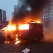 Affaire Théo : un camion RTL brûlé à Bobigny lors de manifestations