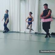 Ces papas qui s'essayent à la danse classique sont tordants