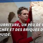 Huit jours au coeur d'un rocher, nouveau défi d'un artiste français de l'extrême
