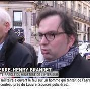 Agression au Louvre: