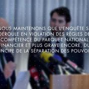 Pas de classement sans suite en l'état de l'affaire Fillon