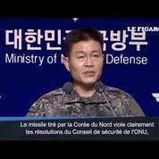 Pyongyang tire un missile balistique, fureur de Séoul