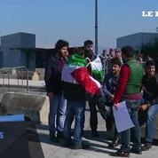 Beyrouth : des manifestants s'opposent à la venue de Marine Le Pen