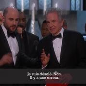 Bourde aux Oscars : La La Land annoncé meilleur film par erreur