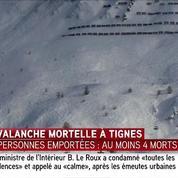 Tignes: quatre morts dans une avalanche, cinq ensevelis