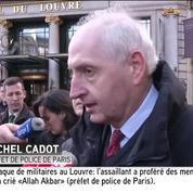 Agression d'un militaire au Louvre: l'assaillant a crié
