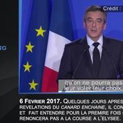 François Fillon, le candidat qui ne voulait pas renoncer