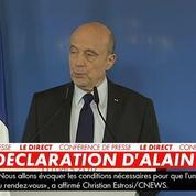 Alain Juppé dénonce le
