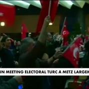 Un meeting électoral turc à Metz largement critiqué