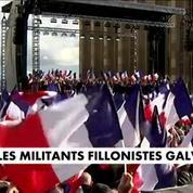 François Fillon galvanise ses sympathisants au Trocadéro