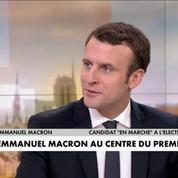 Présidentielle 2017 : Emmanuel Macron au centre du premier débat ?