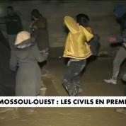 Mossoul-Ouest : les civils en première ligne
