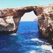 À Malte, la célèbre «fenêtre d'Azur» s'effondre