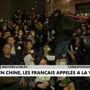 Chine : un appel à la vigilance lancé à la communauté française