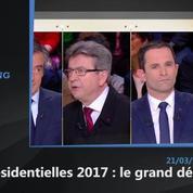 Le travail, thème privilégié de François Fillon durant le débat présidentiel
