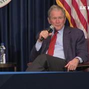 Georges W. Bush revient sur ses critiques de Donald Trump