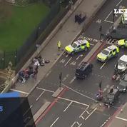 Londres : plusieurs blessés sur le pont de Westminster