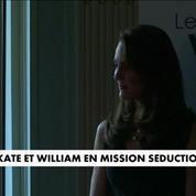 Kate et William en mission séduction à Paris