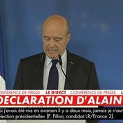 Alain Juppé tacle Macron et son